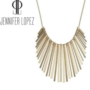 J.Lo Graduated Stick Statement Necklace
